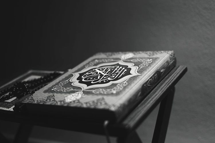 Close-up of table