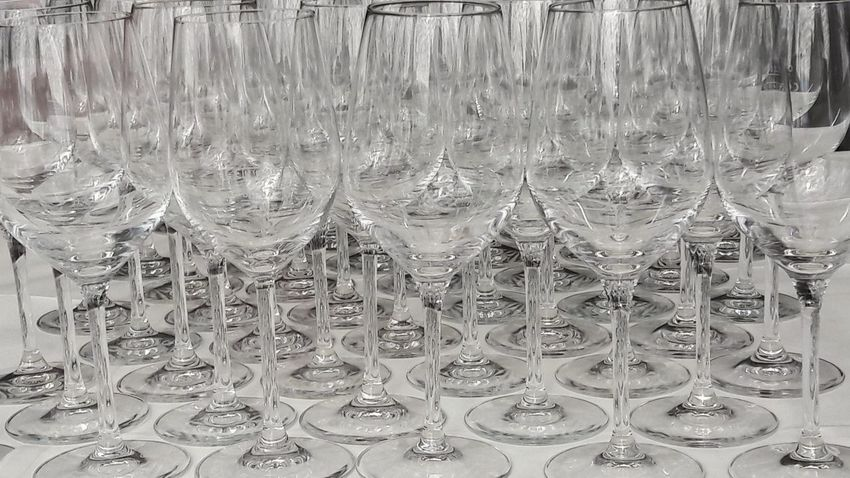 Ready for the wine Large Group Of Objects Close-up Glasses Restaurant Wineglass Wine Glasses Wine Wine Moments Wine Tasting Winetime In A Row