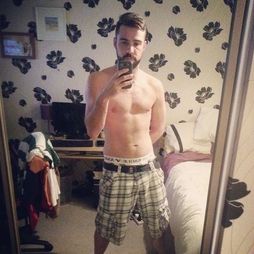 3 months in Beardedgay Beardedguy Beard GayUK Gym gaymuscle