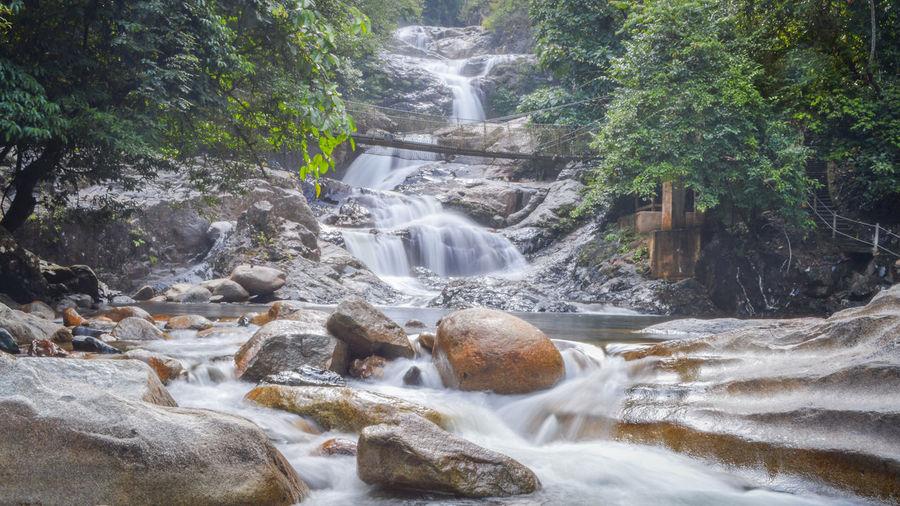 Waterfall at