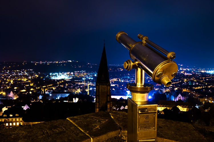 City Cityscape Illuminated Urban Skyline Arts Culture And Entertainment Star - Space Galaxy Water Business Finance And Industry Telescope Coin-operated Binoculars Coin Operated Binoculars Observation Point