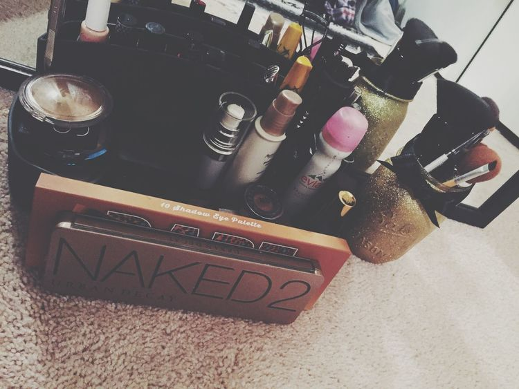 Makeup Homemade Things Organized Neatly Cute Sparkles Gold Matteblack Loveit