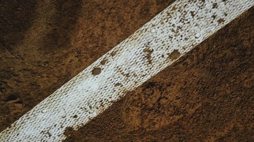 Textured  No People Tennis 🎾 Red Close-up Outdoors Tennislife Low Angle View Tennistime Tennis Courts Tennislover❤ Tennisplatz