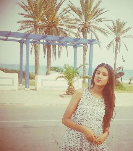 Beach Beauty Model Tunisie enjoying my country