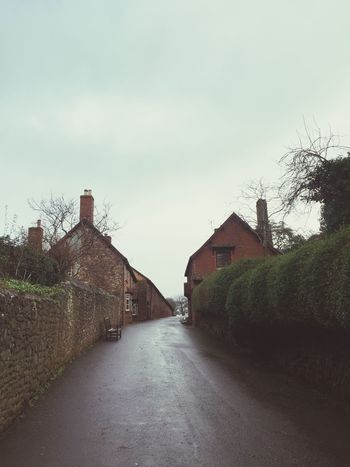 Walks Countryside Cottages Dunster Residential District Transportation Nature Footpath No People Direction The Way Forward Built Structure Building Cloud - Sky Road Plant Architecture Building Exterior House Sky Tree Day Outdoors