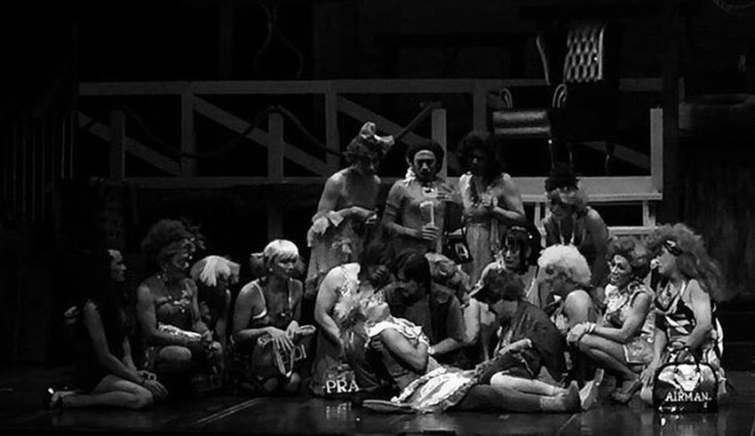 — Opera — Large Group Of People People Actor PhotoTalk Theater Opéra TheDay Drama Art Amazing People Artist Blackandwhite
