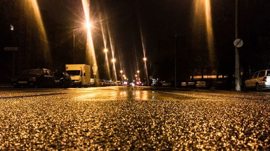 So nice empty street🤘🤘🤘 Showcase April Urban Spring Fever Minsk April Showcase Belarus 2016 Night Lights Iphone6s Road Relaxing Things I Like Taking Photos