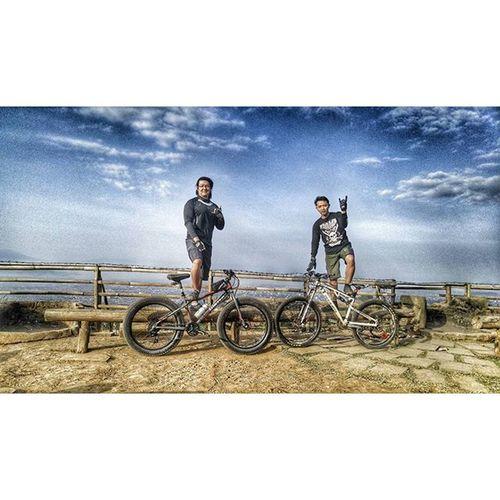 Bicycle Fatbikes Fatbike Polarbottle united grind dominate folker val 2015 puncakbintang bukitmoko lg g4 lgg4 lg_g4 🚲