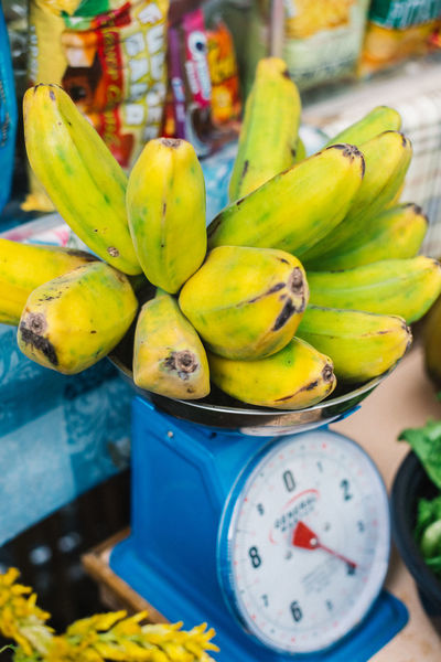 Fruit Healthy Eating Food And Drink Food Freshness Banana Bananas Beauty In Nature StillLifePhotography Nikon D750 Yellow Weighing Scale Paint The Town Yellow