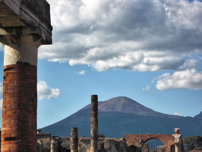 History Historic Historical Monuments Historical Place Historic Site Ruined Mountains And Sky Vulcano EyeEm Gallery EyeEm Best Shots EyeEmBestPics Showcase: March Landscape_Collection EyeEm Best Shots - Landscape Landscape_photography Napoli Italia