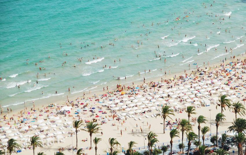 Summer Views Aerial Shot Alicante SPAIN Travel Life Is A Beach The Traveler