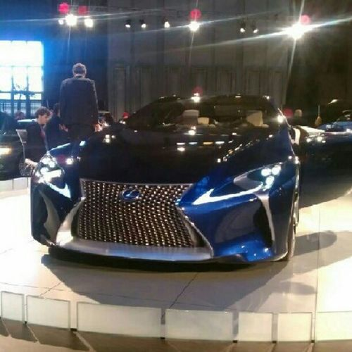 #Autoshow with my bro _Scott4 and look at what we ran into #LexusConcept Cars Future Car Lexusconcept Autoshow
