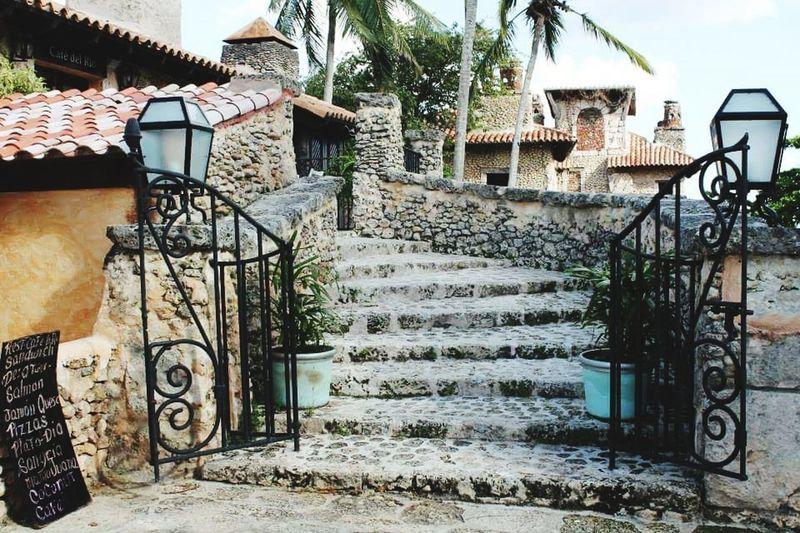 Architecture House Steps Outdoors Vacations Chavon Beauty In Nature Altosdechavon Caribbean Life Dominikanische Republik  Dominican Republic Caribbean Love ❤ Caribbean Reisen Holiday Travel Destinations Architecture