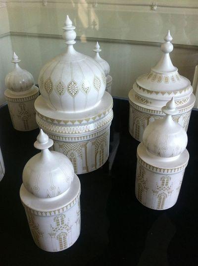 Brighton Pavillion Storage jars