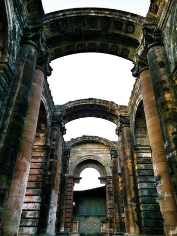 Architecture Built Structure No People Mobile Photography Historical Place India History Footi Khoti Indore India