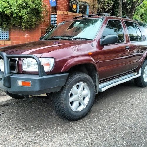Towcar version 3 Pathfinder Nissan 4wd 4X4