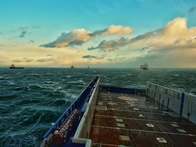 Aberdeen anchorage .. Aberdeen,Scotland Picoftheday Beutiful  Seaman AmatorPhotographer Sea And Sky Stormy Weather Enjoying Life Starting A Trip