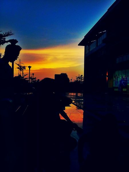 The Almighty sunset..