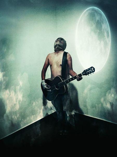 Rare Crepy Creepy Music Time Music Guitar Halloween First Eyeem Photo Fear Surreal Strange