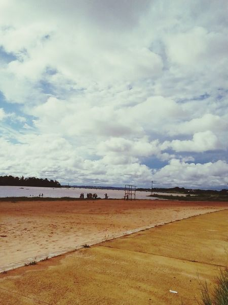 Costanera  Rio Paraná♥ Paisaje Natural Misiones Argentina . Aire Libre Río Paraná Misiones EyeEm Nature Lover Daytime Photography Cloud - Sky Water Misiones, Argentina EyeEm Nuves!! Morning Sky S