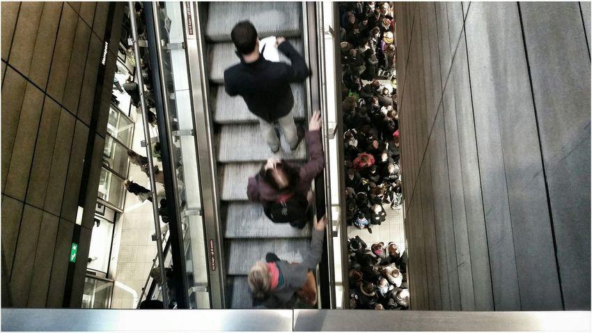 Monday Morning Metro People Masses