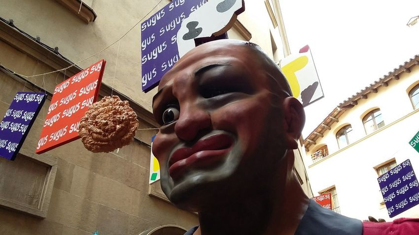 carnival, Solsona. Gegants Cabeçuts Tipical Catalonia Adult Adults Only One Man Only Mid Adult Business Finance And Industry Low Angle View One Person Close-up