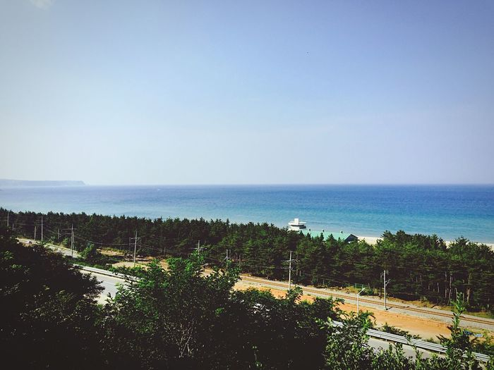 Nature Taking Photos Holiday Landscape Beach Ocean View 동해바다