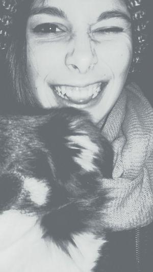 ~ Selfie Stupido Whit My Dog Pre Scuola ~