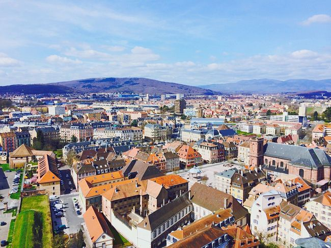 From The Rooftop Belfort 90 Franchecomte Lion France Check This Out Enjoying The View