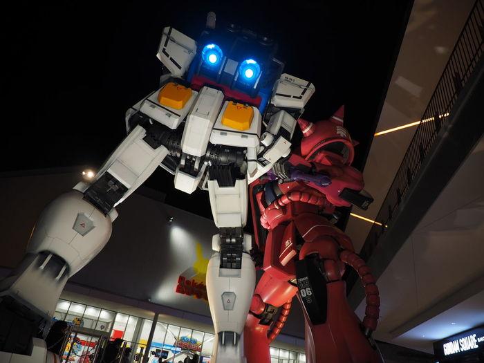 Gundam Suita-shi, Japan Night View