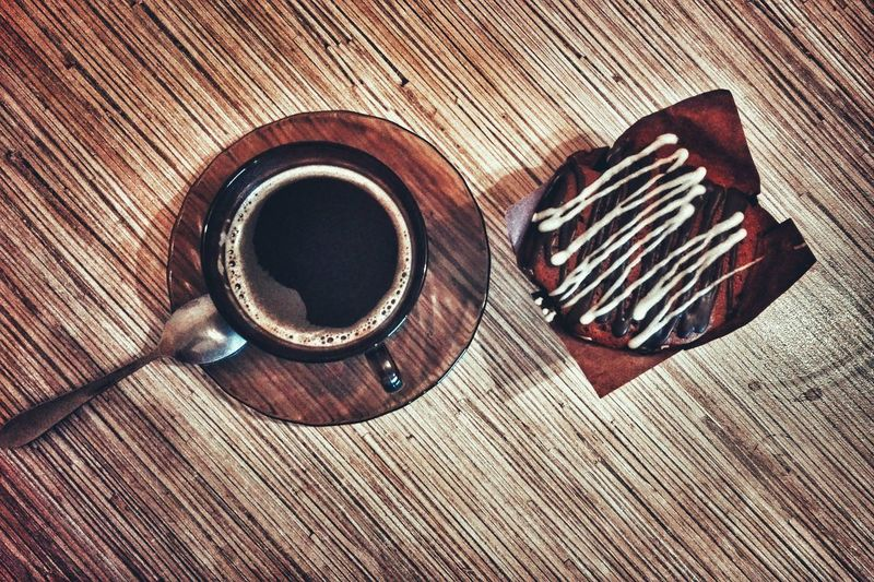 Food And Drink Table Sweet Food Tea Drink Warm
