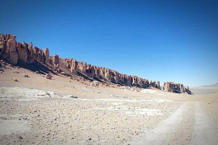 Outdoors Landscape Nature Nature Reserve No People Day Sky Atacama Desert Atacama Beauty In Nature Clear Sky Chile♥