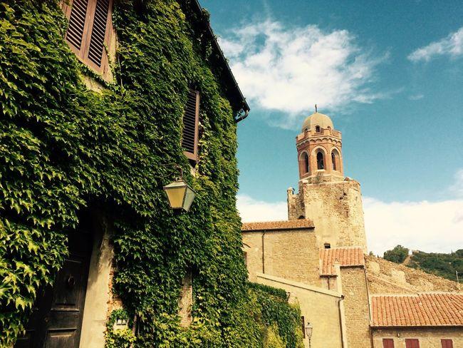 Castiglione Della Pescaia Religion Church Toscana Campanile Sky Green Edera Architecture Cloud - Sky Spirituality