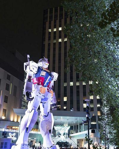 ダイバーシティ東京 お台場 ガンダム 風景