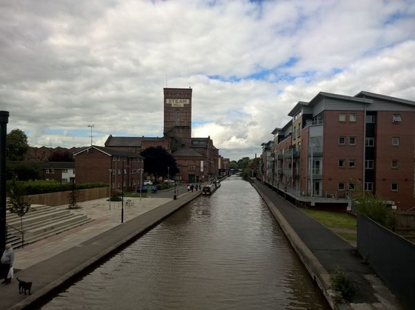 Canal, Chester. Architecture Building Exterior Built Structure City Cloud - Sky Day Nature No People Outdoors Sky Town Water