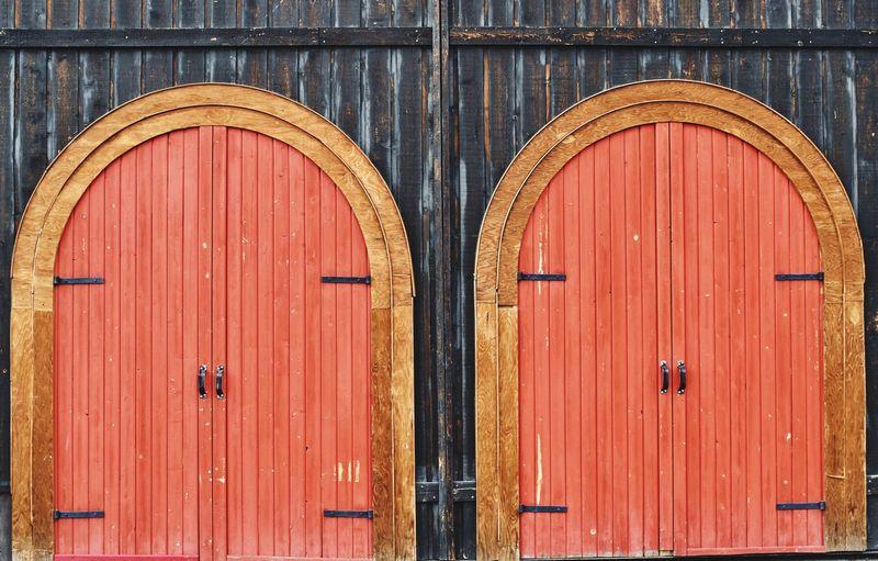 Two doors Door