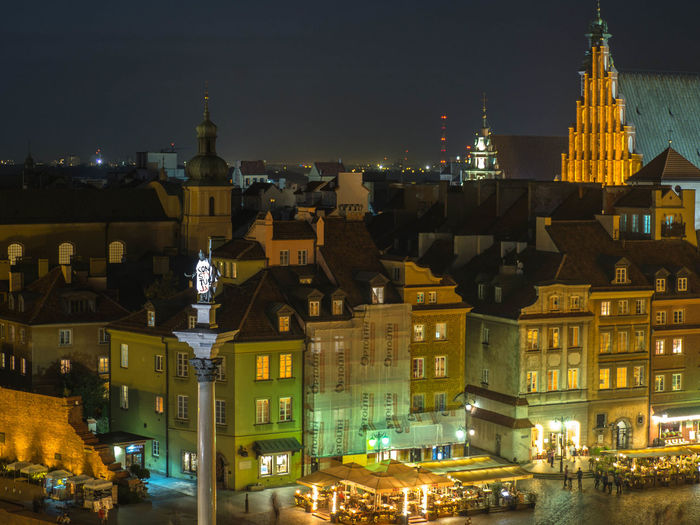 Poland Polska Warsaw Warsaw Old Town Warsaw Poland Warsaw Nights Warszawa  Architecture Building Building Exterior Built Structure Capital Capital Cities  City No People Poland 💗