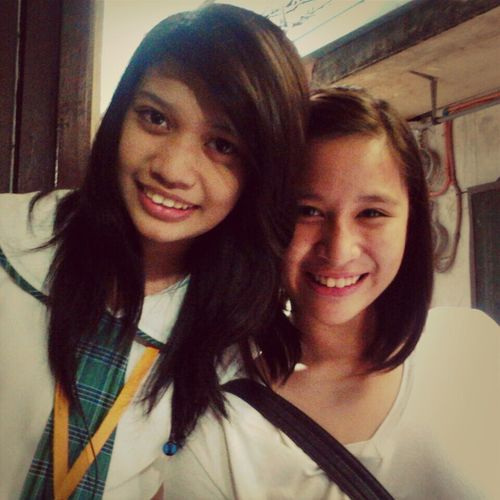 "With My Bestfraand Badjao, Hannah.:* I Love You So Much:"">"