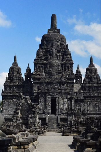 Sewu Temple - Temples Of Indonesia Tample Religion Architecture History Belief Travel Destinations Tourism Sky Travel Archaeology First Eyeem Photo