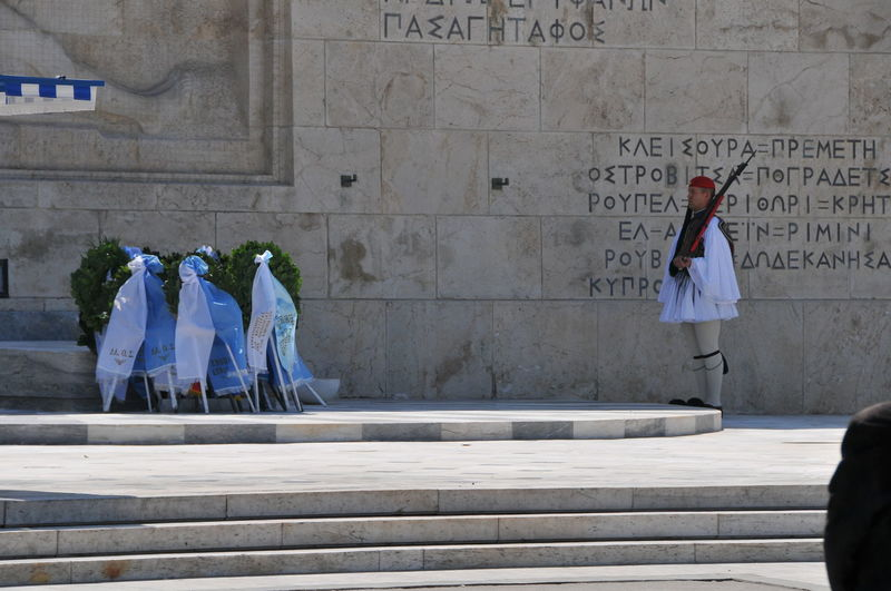 guard Adult Adults Only Architecture Athens Built Structure Day Evzones Full Length Greek Guard Guard Outdoors People Togetherness