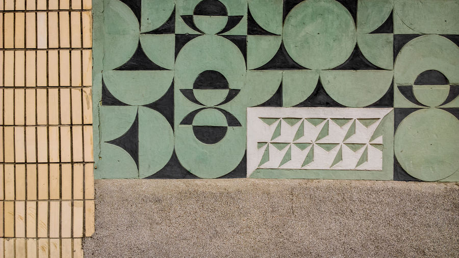 Mosaic Art Mosaic Wall Built Structure Exterior Day No People Outdoors Architecture Close-up