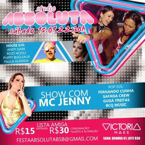Em primeira mão Absoluta na @victoriahaus Sousafada ! Flyer by @butulima