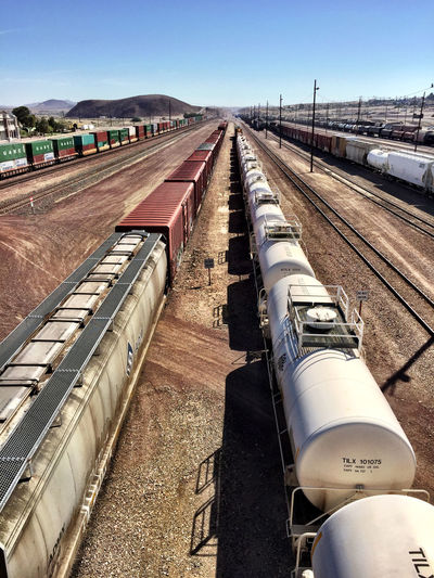 """Six Trains"" Trains Train Station Trainphotography Railroad Tracks Trainyard Railway"