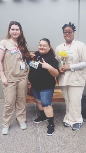 Oitnb Orange Is The New Black Cosplay Inmates Characters Sdcc Comic Con Comiccon