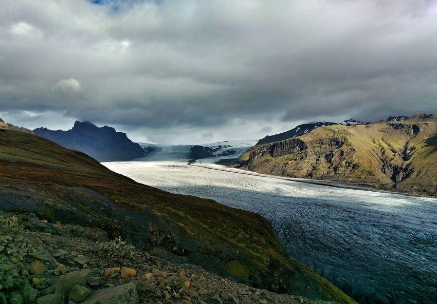 Glacier Landscape Skaftafellsjökull Iceland Landscapes With WhiteWall
