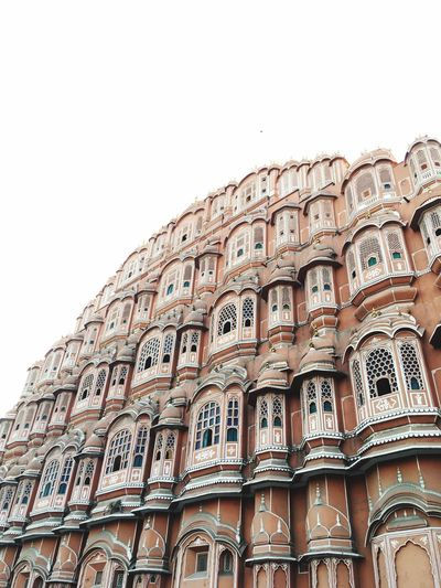 Low Angle View Architecture Façade Home Ownership Building Story Apartment Conformity No People Community City Outdoors Day Hawa Mahal