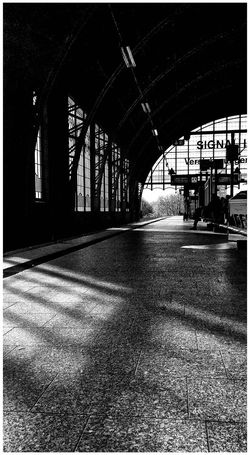 I love this Art Nouveau Train Station in Hamburg... Monochrome Public Transportation Architecture_bw In The Terminal