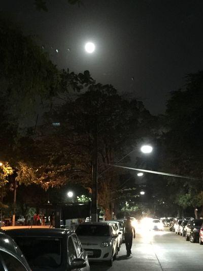 Eu realmente gosto de Lua Cheia... // I Really Love Full Moon - September, 16 2016. Full Moon Night Photography Ufpe