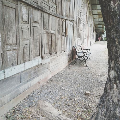 chair in front of old house Decoration Design Vintage House Chair Textured  Architecture Built Structure Building Exterior