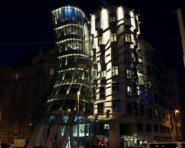 Travel Photography Love ♥ Evening Light Amazingplaces Prague Czech Republic Dancinghouse